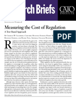 Measuring the Cost of Regulation