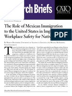 The Role of Mexican Immigration to the United States in Improved Workplace Safety for Natives