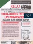 """""""El Siglo"""" - N°7629 - segunda quincena de mayo de 1986"""