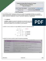 Matematicas 6. (Guia 4)