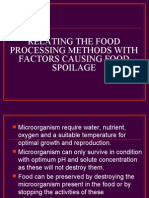 Food Processing Method