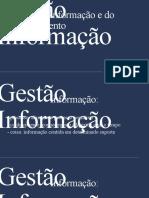 Gestão da informação em ambientes organizacionais
