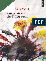 Pouvoirs de Lhorreur. Essai Sur Labjection by Kristeva Julia (Z-lib.org).Epub