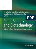 Plant Biology and Biotechnology Volume 2 Plant Genomics and Biotechnology By Bir Bahadur, Manchikatla Venkat Rajam, Leela Sahijram and K. V. Krishnamurthy.pdf