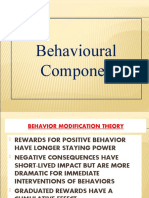 Behavioural Component (1)