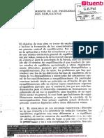 Jean Piaget. La equilibración de las estructuras cognitivas. Problema central del desarrollo.  Cap 1