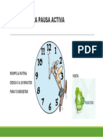 HORA DE UNA PAUSA ACTIVA