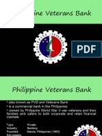 PHILIPPINE-VETERANS-BANK SWOT