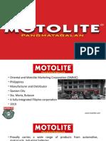 MOTOLITE SWOT