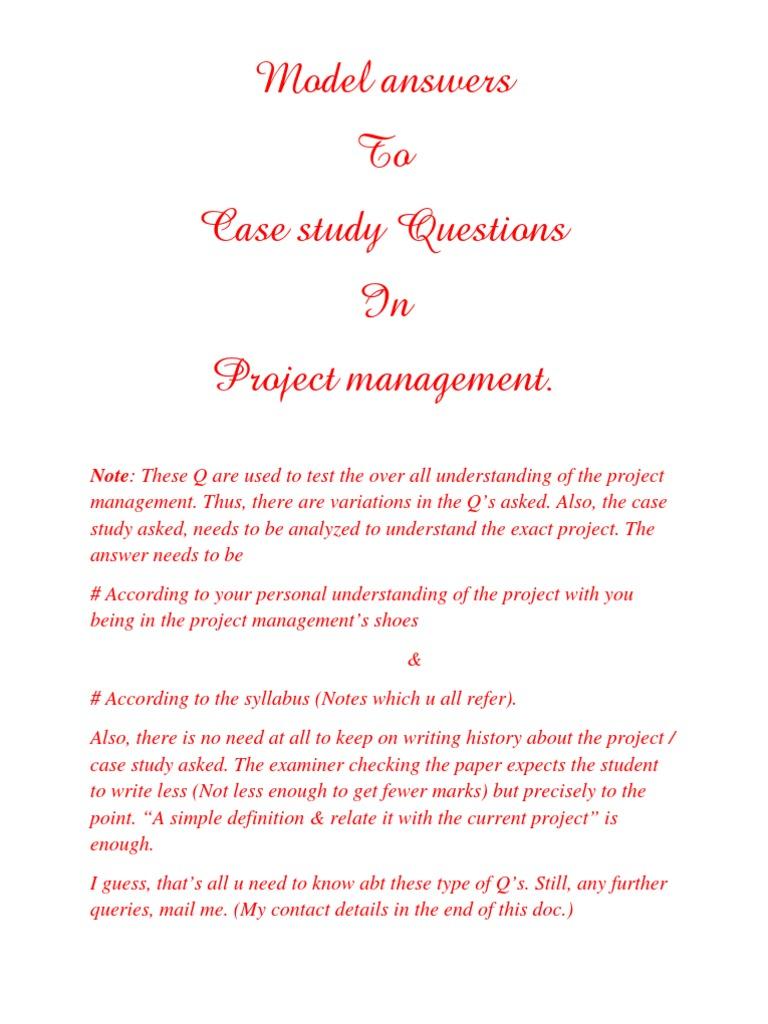 define project management