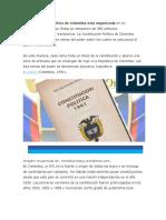 cotitucion politica de colombia