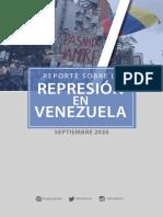 REPORTE Septiembre 2020