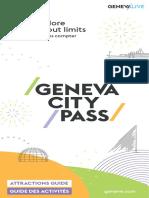 Geneva City pass brochure 2020