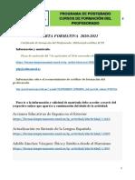 OFERTA FORMATIVA  2020-2021