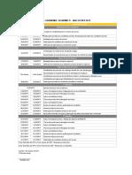 Calendário Académico 2019