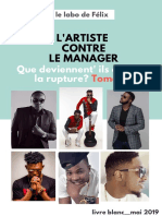 artistes contre managers