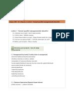 Termeni Specifici Managementului Afacerilor