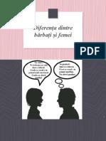 psihologia femeii si a barbatului