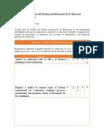 Revisión del Sistema Institucional de Evaluación Elías Herrera