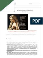 Oraciones católicas_ Rosario completo (con letanías y ofrecimiento)..pdf
