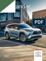 Toyota 2021-highlander-brochure-en