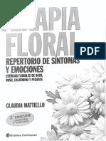 Terapia Floral Repertorio de Sintomas y Emociones