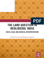 The Land Question in Neoliberal India
