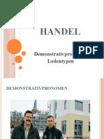 Kurs 2.7 - Demonstrativ und Ladentypen