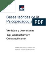 Bases teóricas de la Psicopedagogía
