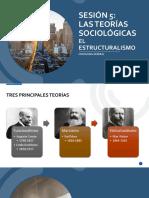 Sge0 Sesión 5 Las Teorías Sociológicas El Estructuralismo