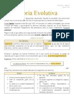 2. Teoría Evolutiva