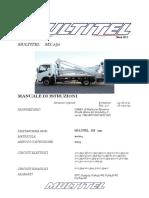 multitel piattaforma-25-mt-manuale istruzioni mx250