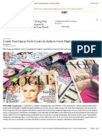 Condé Nast Opens Tech Centre in India to Grow Digital Publishing | News & Analysis | BoF
