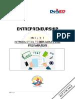 Entrepreneurship Q1 M1