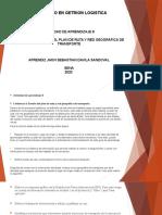 EVIDENCIA 4 DISEÑO DEL PLAN DE RUTA Y RED GEOGRÁFICA DE TRANSPORTE 8