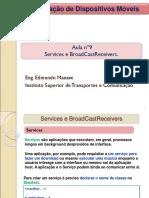 09 Services e BroadCastReceiver