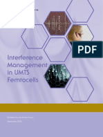Interference Management in UMTS Femtocells