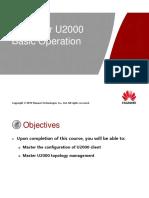 2_ iManager U2000 Basic Operation ISSUE1.00