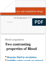 Thrombolytics & Anti Platelet Drugs