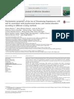 2013 Motrico et al. - Psychometric properties of the List of Threatening Experiences—LTE
