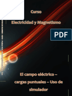 Lab virtual_Campos electricos_Cargas puntuales