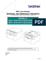 Manual de Servico DCP-1510, DCP-1511, DCP-1512, DCP-1518, MFC-1810, MFC-1811, MFC-1813, MFC-1815, MFC-1818.pdf