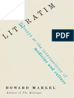 Literatim Essays at the Intersections of Medicine and Culture