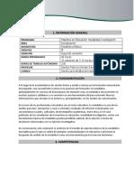 MICROCURRÍCULO Estadística Básica