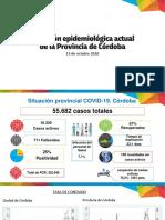 Reporte epidemiológico provincial 15 de octubre