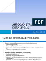 CLASE AUTOCAD STRUCTURAL DETAILING 2011-02