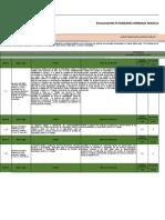 Evaluacion estandares minimos del SG-SST  0312
