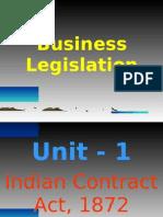 Business Law Unit-1