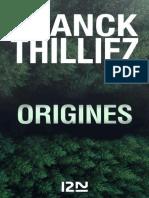 Franck Thilliez – Origines (2019).epub