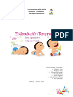 planificacion estimulacion temprana
